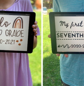 back-to-school printables, 2020-2021 school year, ABQ Mom