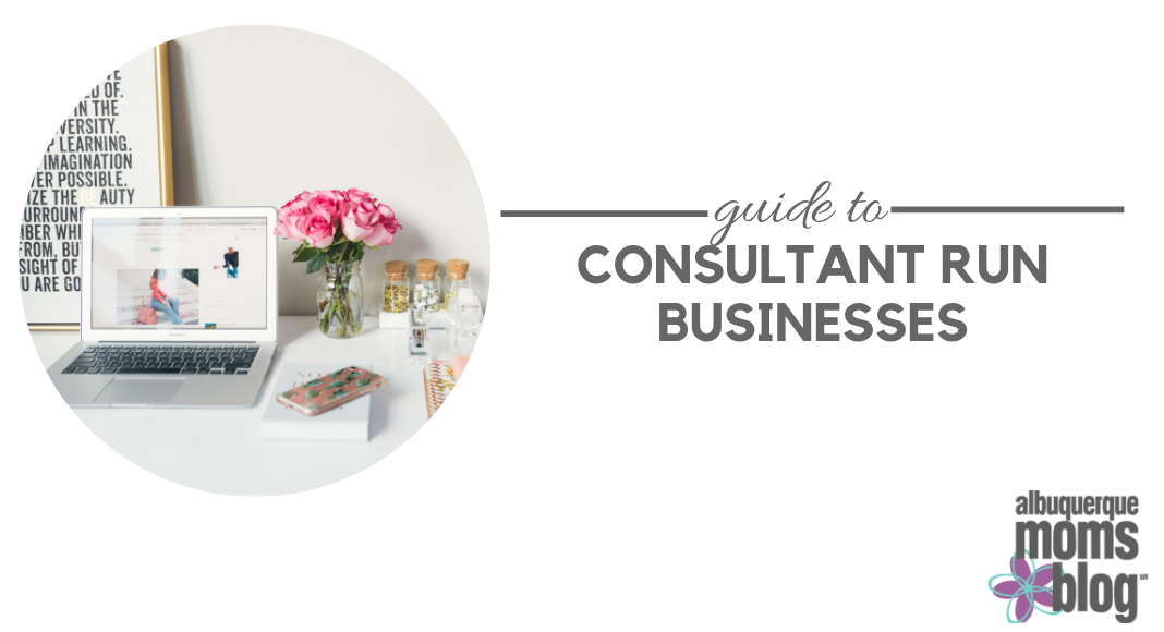 consultant run businesses, mom owned buisnesses, direct sales