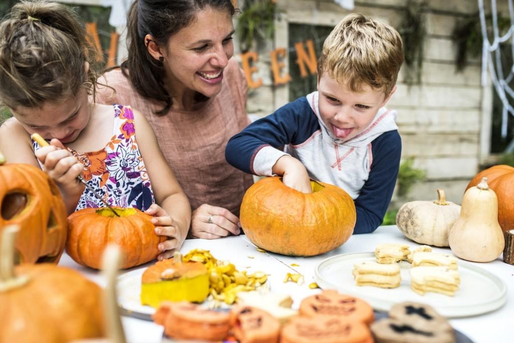Recycle Pumpkins from Albuquerque Moms Blog