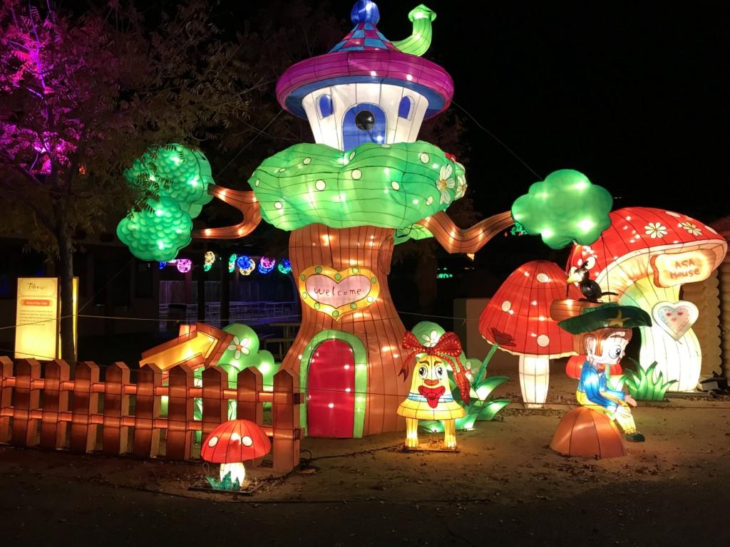 Dragon Lights. Albuquerque Moms Blog