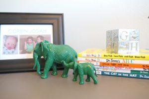 elephant decor. Albuquerque Moms Blog.