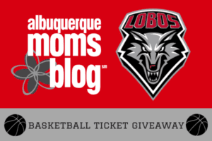 basketball ticket giveaway; UNM Lobos, university of new mexico