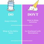 Dos and Don'ts of Kids' Birthday Parties