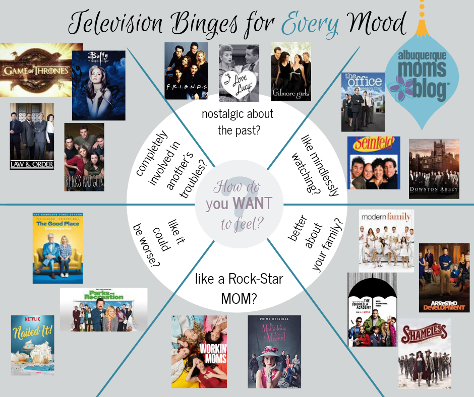 Television Binges for Every Mood Albuquerque Mom's Blog