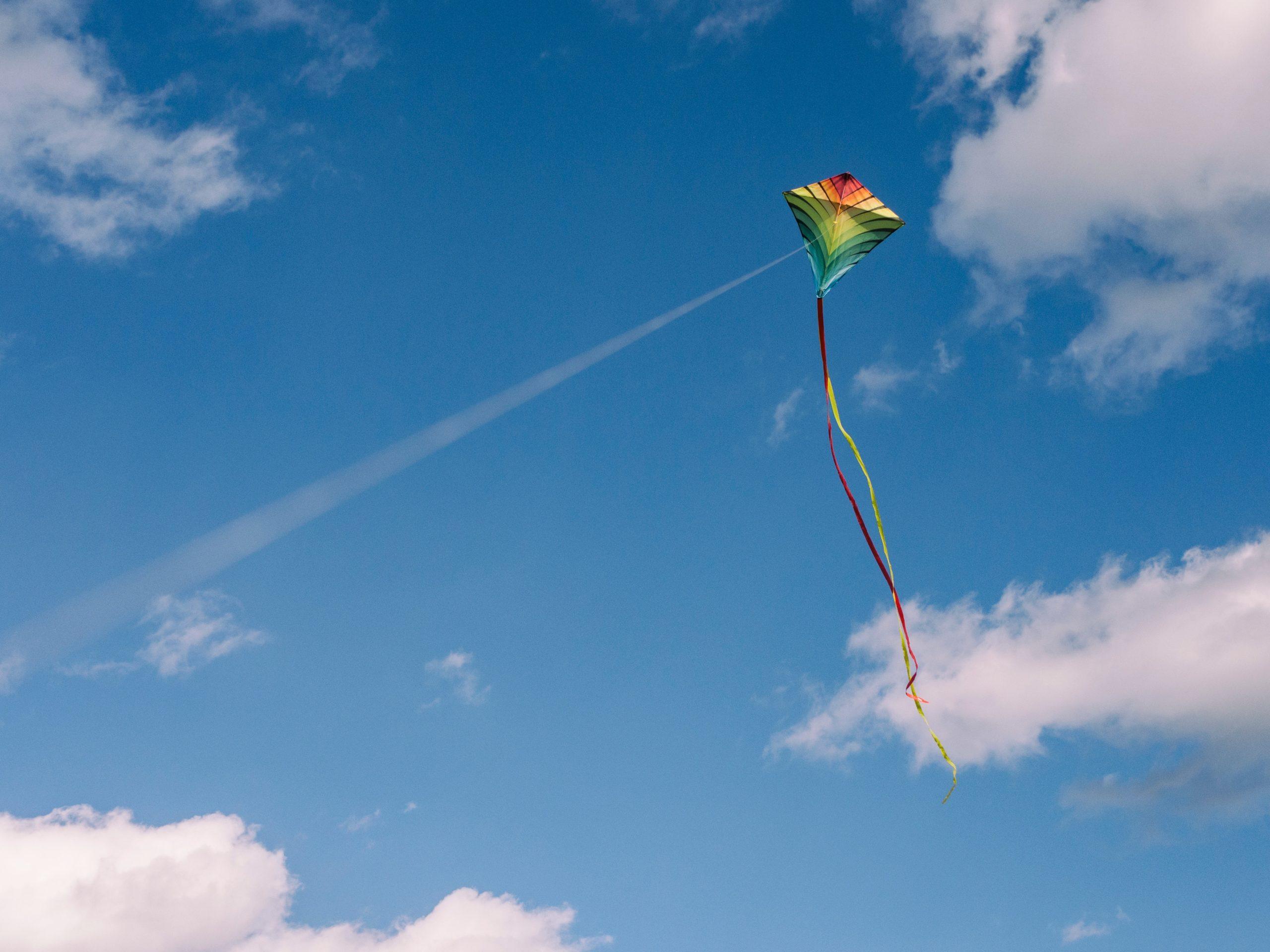 kite, craft, abq moms