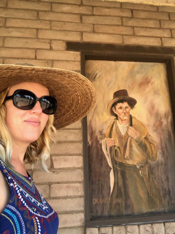 Calamity Jane with Albuquerque Mom's Blog