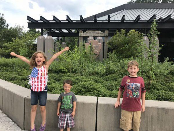 Children at Historic Jamestowne Albuquerque Moms Blog