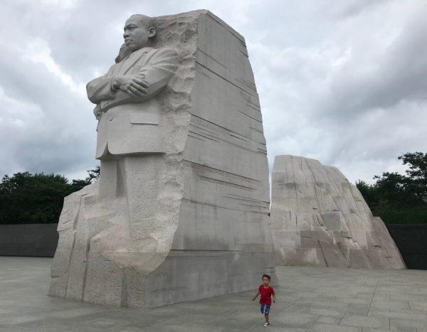 Boy Admires Dr. Martin Luther King Jr. Albuquerque Mom's Blog