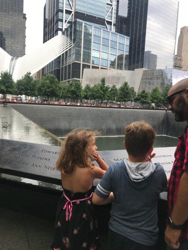 Children Learning of 9/11 Memorial Albuquerque Mom's Blog