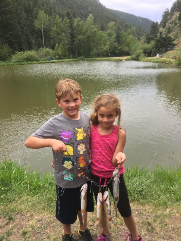 Children Catch Fish Albuquerque Mom's Blog