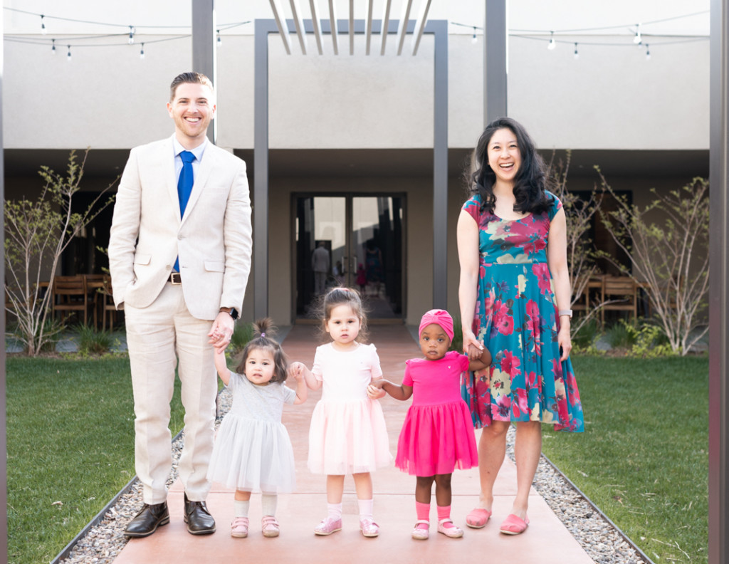 Karen Francis and family, Albuquerque Moms Blog