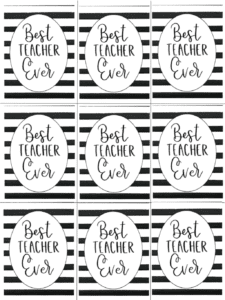 We Heart Our Teachers Free Printables For Teacher Appreciation Week