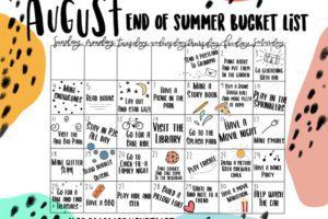 August_Bucket_List
