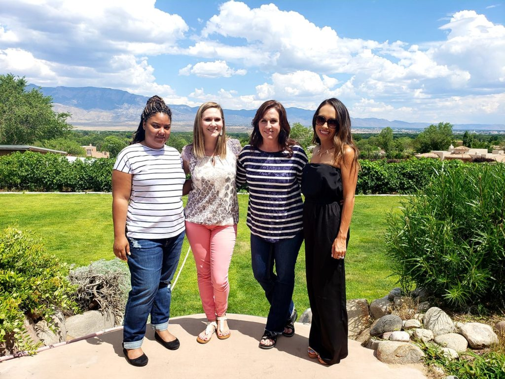 Enjoying Time with Friends at Acequia Winery