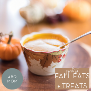 Guide to Fall Eats