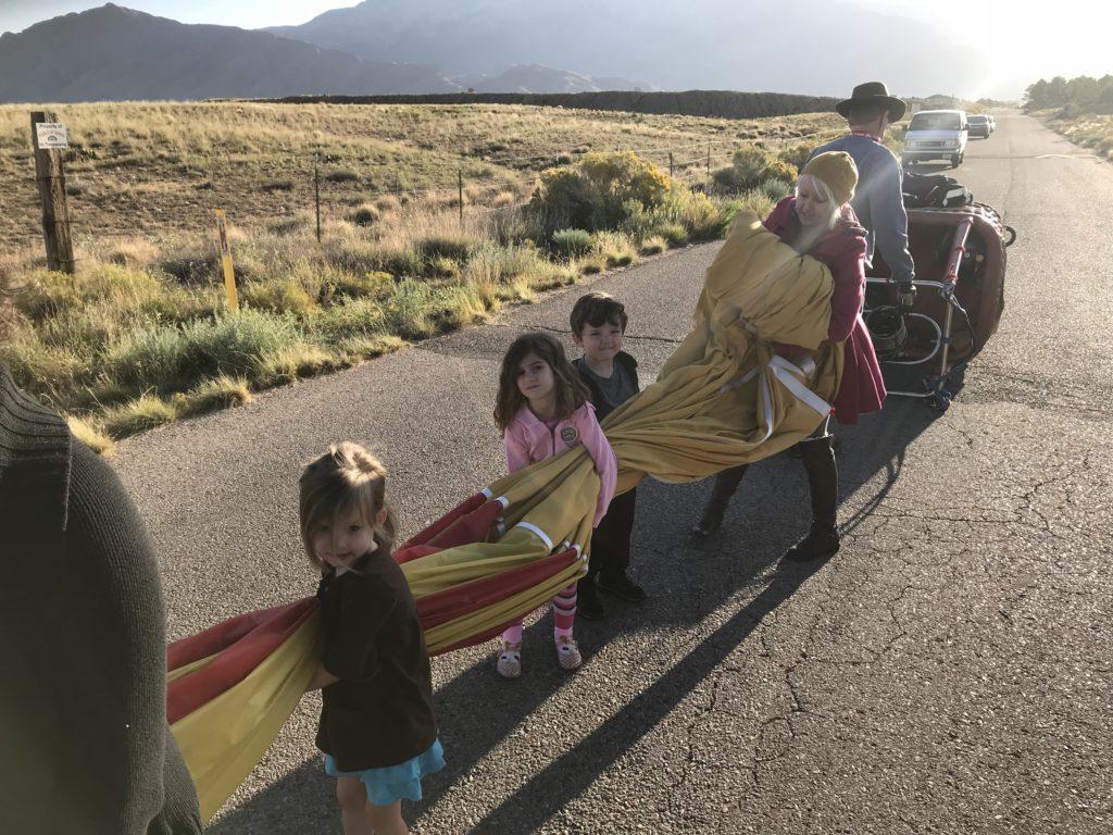 balloon chase crew, Albuquerque Balloon Fiesta