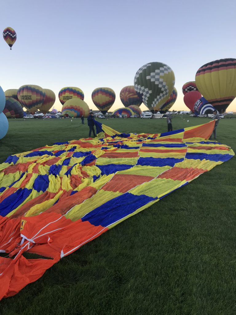 Chase Crew: Behind the scenes at Balloon Fiesta from Albuquerque Moms Blog