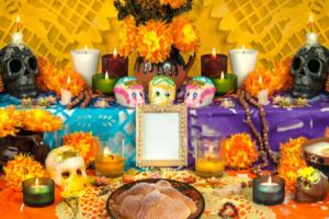 Día de los Muertos, Day of the Dead, Albuquerque moms blog, crafts