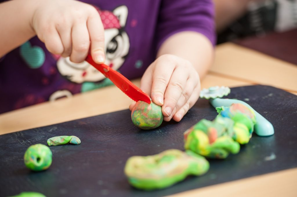 """Mixing Play Dough and Other Things I've Decided to """"Let Go"""" by Albuquerque Moms Blog"""
