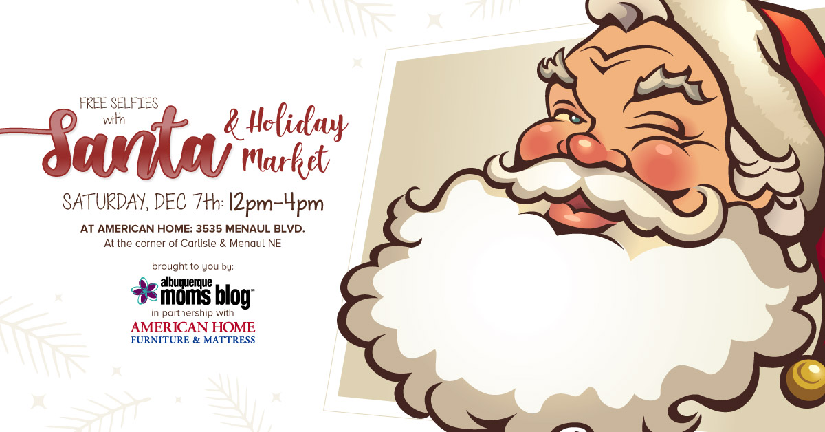 Selfies With Santa Amp Holiday Market Free Event On Dec 7th