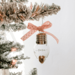 Light of Friendship Ornament :: An Easy DIY Gift (Includes Printable)