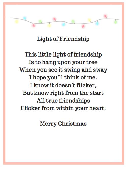 Light of Friendship