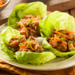 The EASIEST, Healthy Chicken Lettuce Wraps