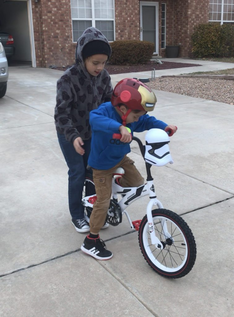 A few pointers can help a LOT when teaching someone to ride a bike, Albuquerque Mom's Blog