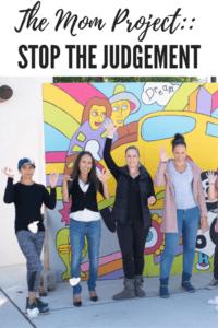 mom project, stop judgement