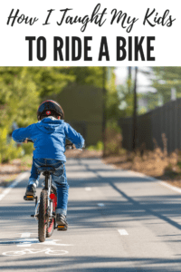 how I taught my kids to ride a bike, ABQ Moms