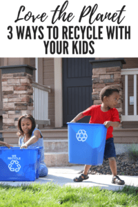 recycle with kids, ABQ Moms