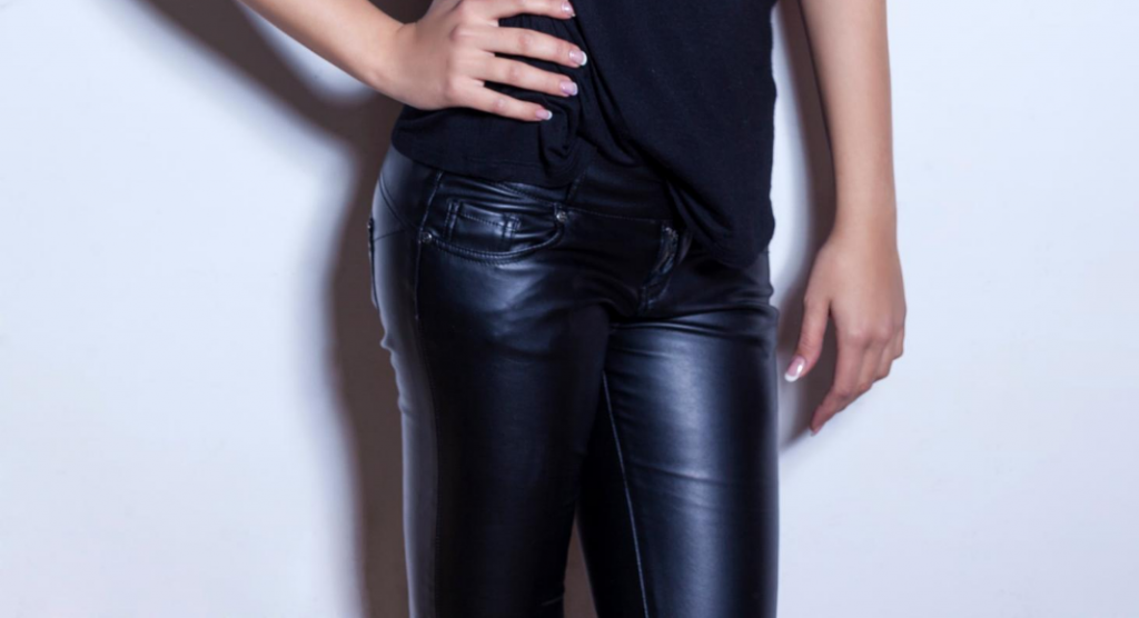 Am I too old for leather pants, ABQ Mom