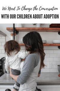 change the conversation about adoption, ABQ Moms