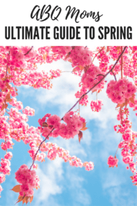 ABQ Moms Ultimate Guide to Spring, Albuquerque