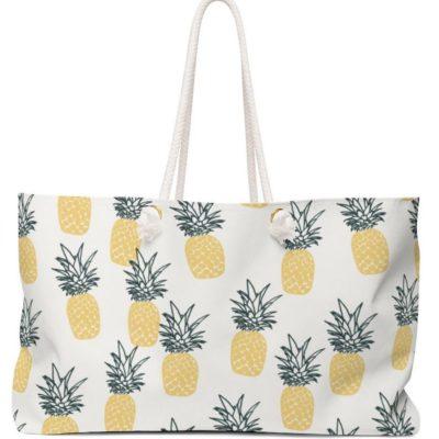 Pineapple Weekender Bag