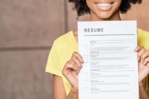 4 resume writing tips
