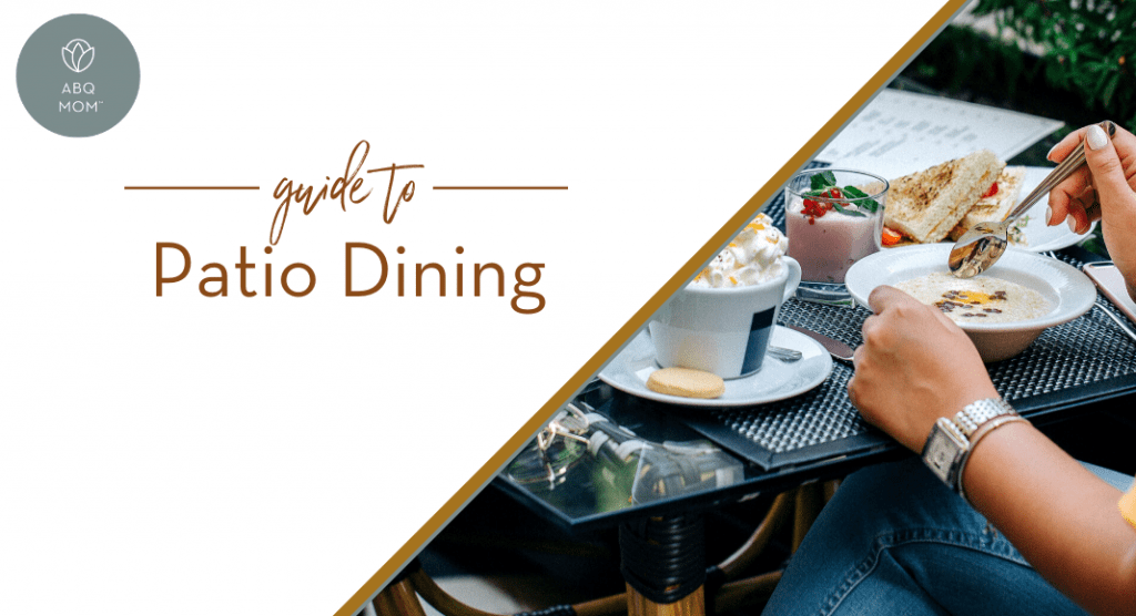 Guide to Patio Dining