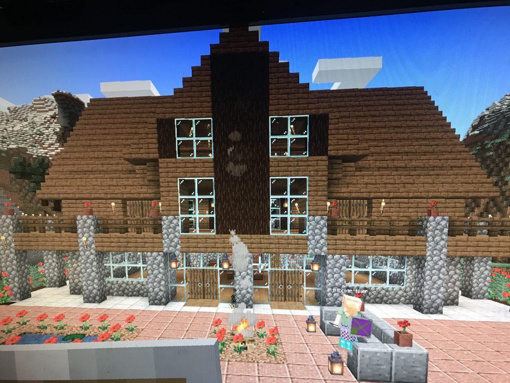 Minecraft house