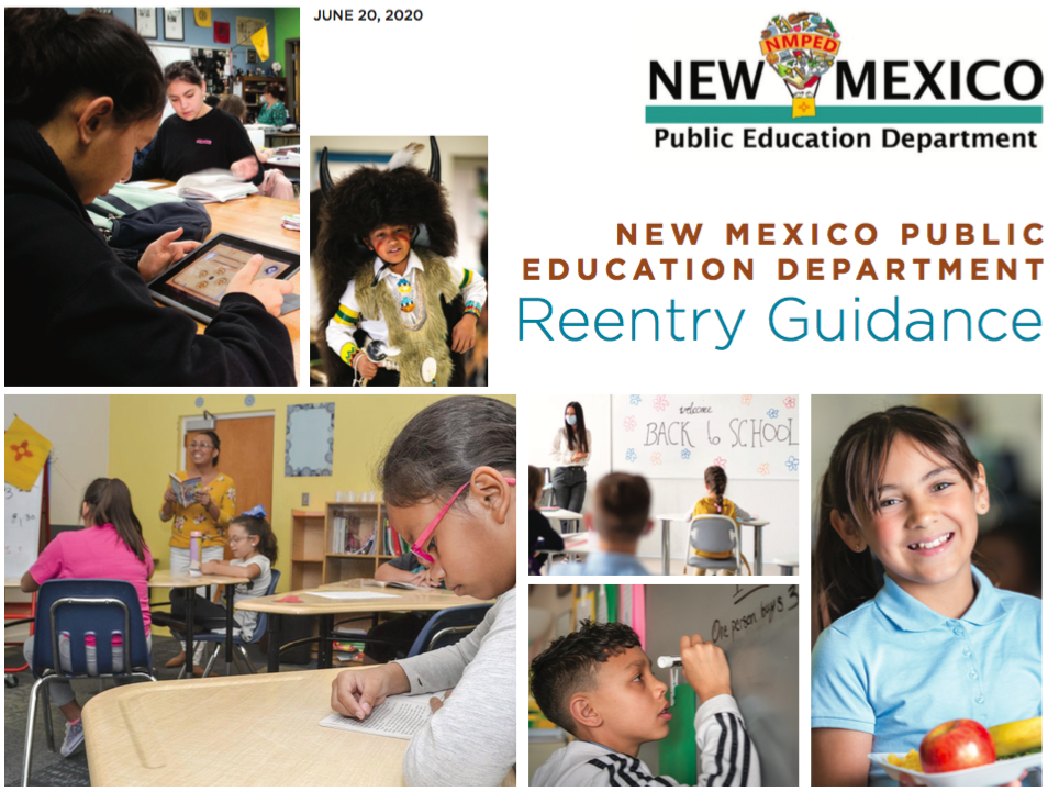 school re-entry for the 2020-2021 school year have been released by the NMPED