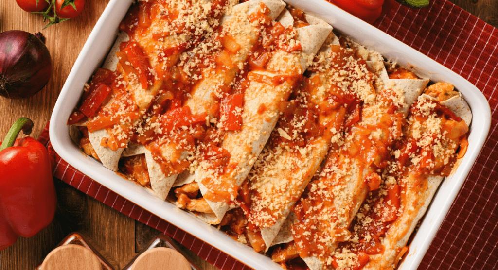 enchiladas, ABQ Mom