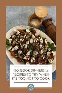 3 no-cook dinners, ABQ Mom