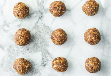 back-to-school peanut butter protein balls, ABQ Mom
