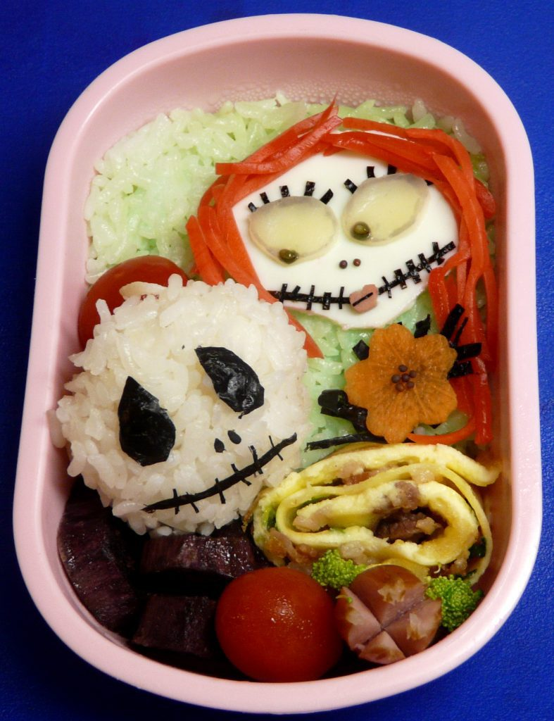 Halloween Themed Bento Lunch Box Ideas