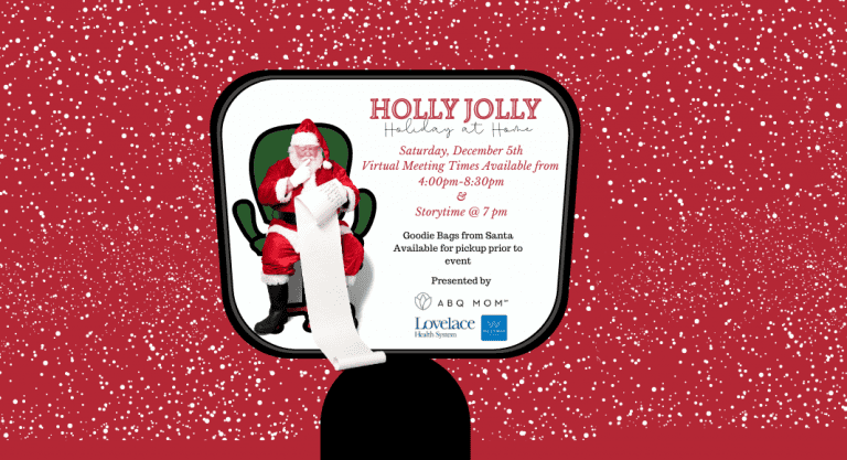Holly Jolly Holiday at Home :: Personalized Virtual Visit & Story Time with Santa
