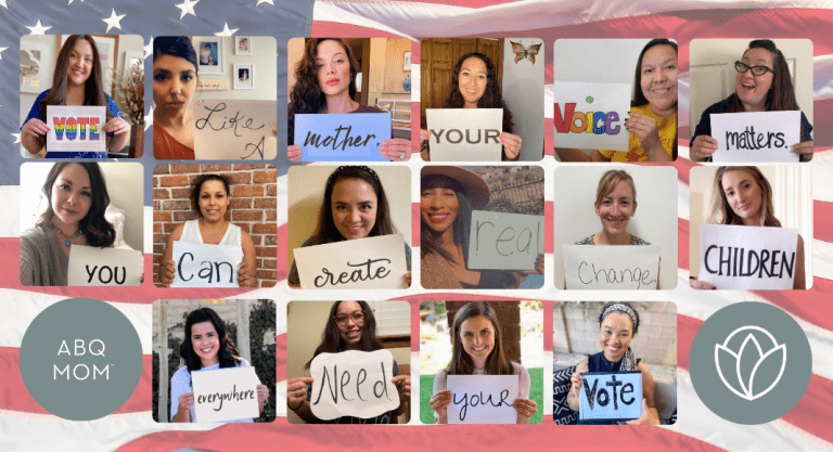 Five Reasons Why Every Mom Should Vote {Plus Voter Information}