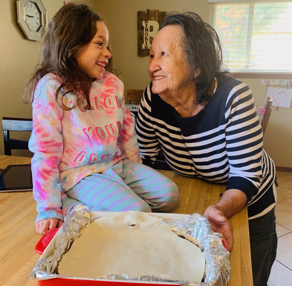 EGR Grandma and Granddaughter