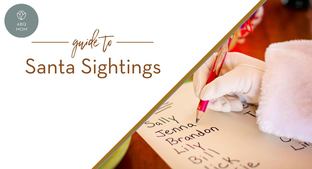 Guide to Santa Sightings