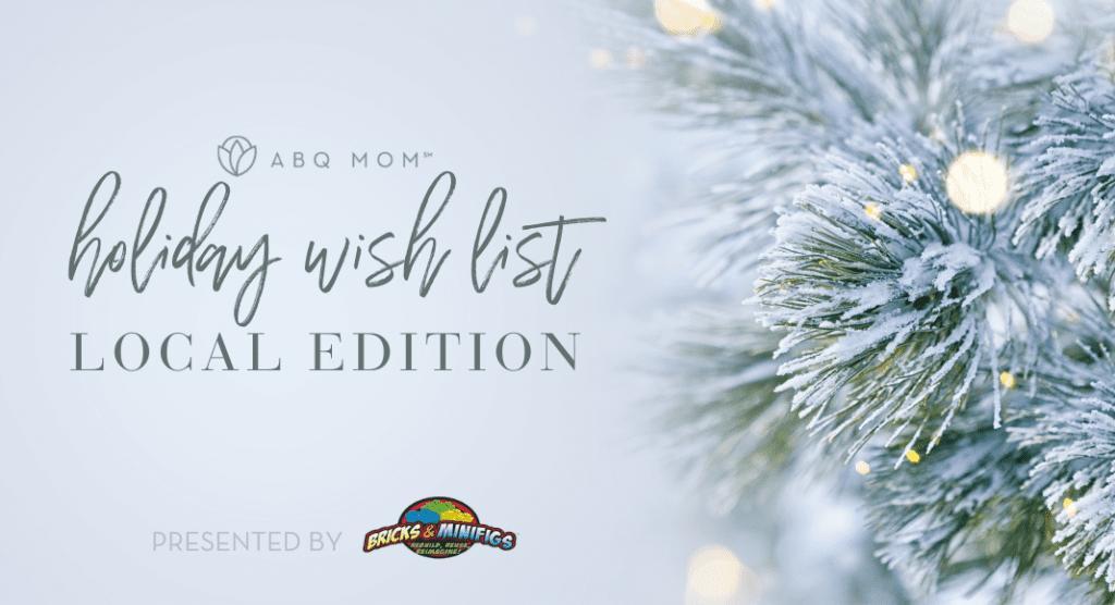 holiday wish list, albuquerque local, shopping