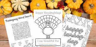 10 Thanksgiving Activities for Kids