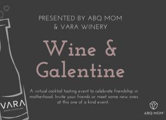 Wine and Galentine, ABQ Mom, Vara Winery, Albuquerque